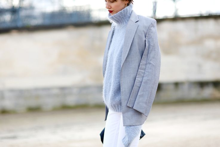 Knitwear Street Style 12 - pictures, photos, images