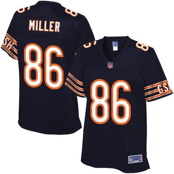 6757e961bdd ... NFL Pro Line Womens Chicago Bears Zach Miller Team Color Jersey - 99.99  ...