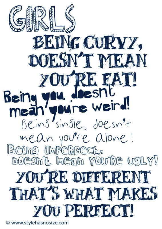 quote, perfect, curvy, fat, you, weird, single, imperfect, ugly