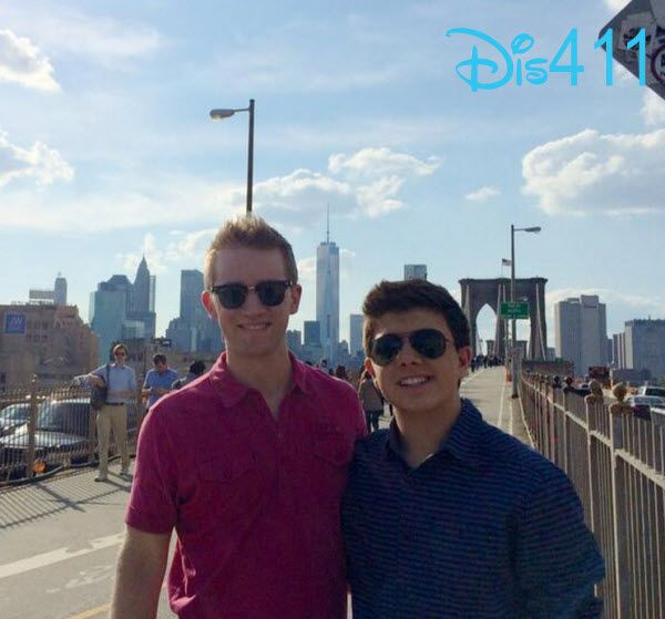 Photo: Bradley Steven Perry With Jason Dolley In New York May 17, 2014