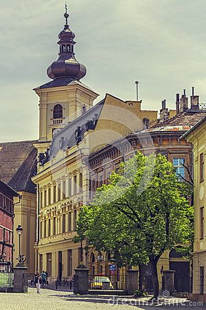The Huet Square, Sibiu, Romania - Download From Over 32 Million High Quality Stock Photos, Images, Vectors. Sign up for FREE today. Image: 54031163