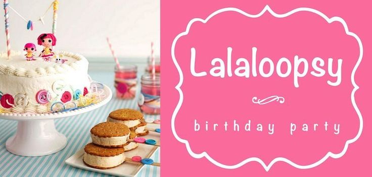 Of course, no #girls #birthday #party would be complete without birthday cake! Decorate the cake with buttons and @Brenda Franklin Myers White herself, available from @David Nilsson Dahlquist Express!