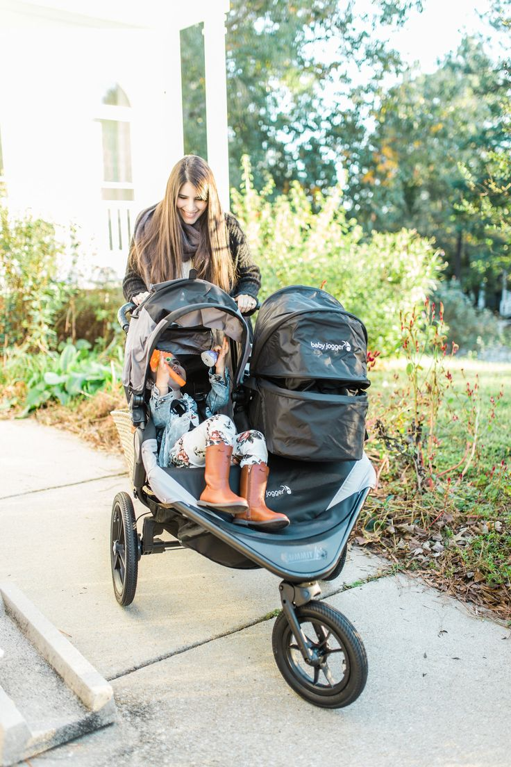 Baby Jogger Summit X3 Double Stroller Review Glitter