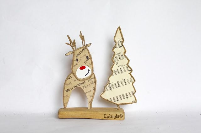 Sapin De Noel Kraft : epistyle papier paper bricolage noel idee bricolage ~ Pogadajmy.info Styles, Décorations et Voitures