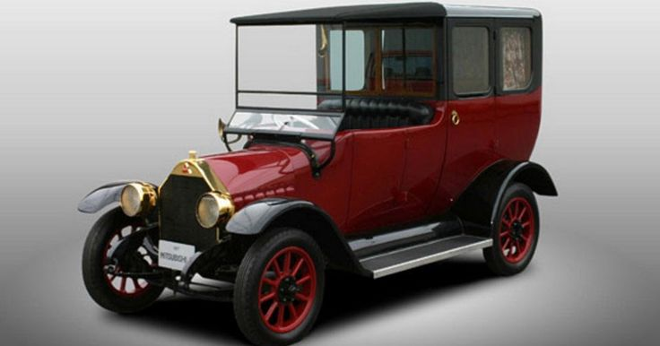 West Coast Customs To Recreate First Ever Mitsubishi Model A Using An Outlander PHEV #Classics #Mitsubishi