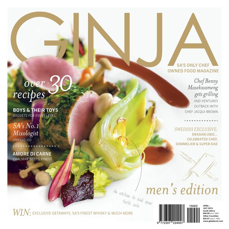 GINJA Food Magazine Apr Jul '15 Edition - Preview. Purchase your digital or print subscription from www.ginjafood.com or subscriptions@ginjamedia.com