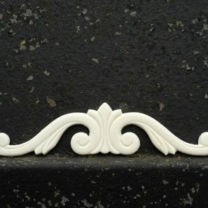 Really popular centerpiece. DId you know you can heat our resin mouldings to bend ? Check out the photos of this on a half moon table