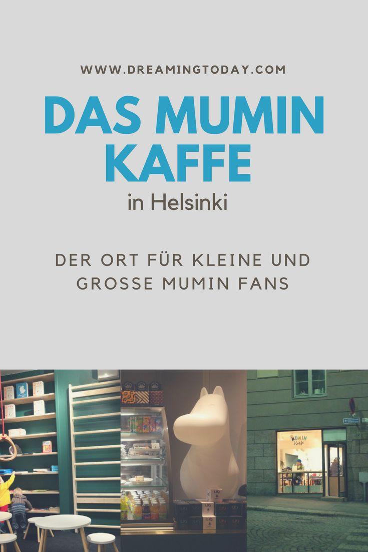 Du magst die Mumins? Dann solltest du schnell nach Helsinki kommen und dieses Café besuchen.
