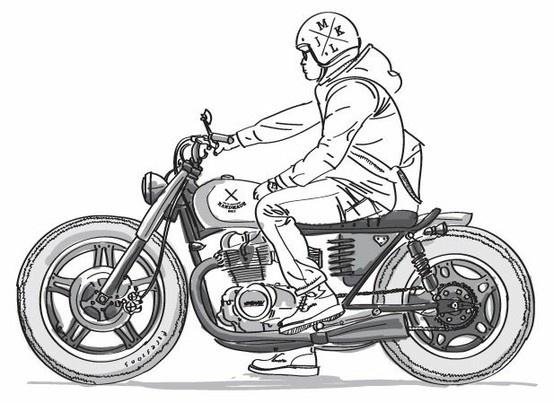 les 25 meilleures id es concernant tatouages de moto sur pinterest tatouages de motards. Black Bedroom Furniture Sets. Home Design Ideas