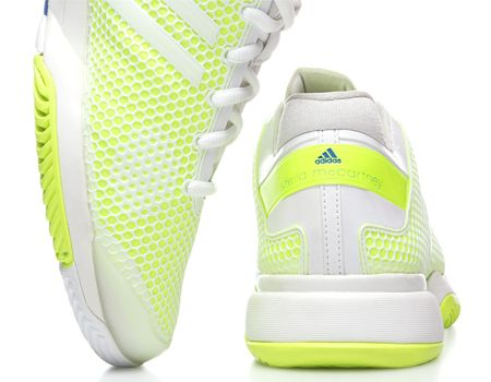 The adidas Barricade is back! And with an all new design by Stella  McCartney.