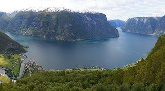 Noruega, Sogne, Fiordo