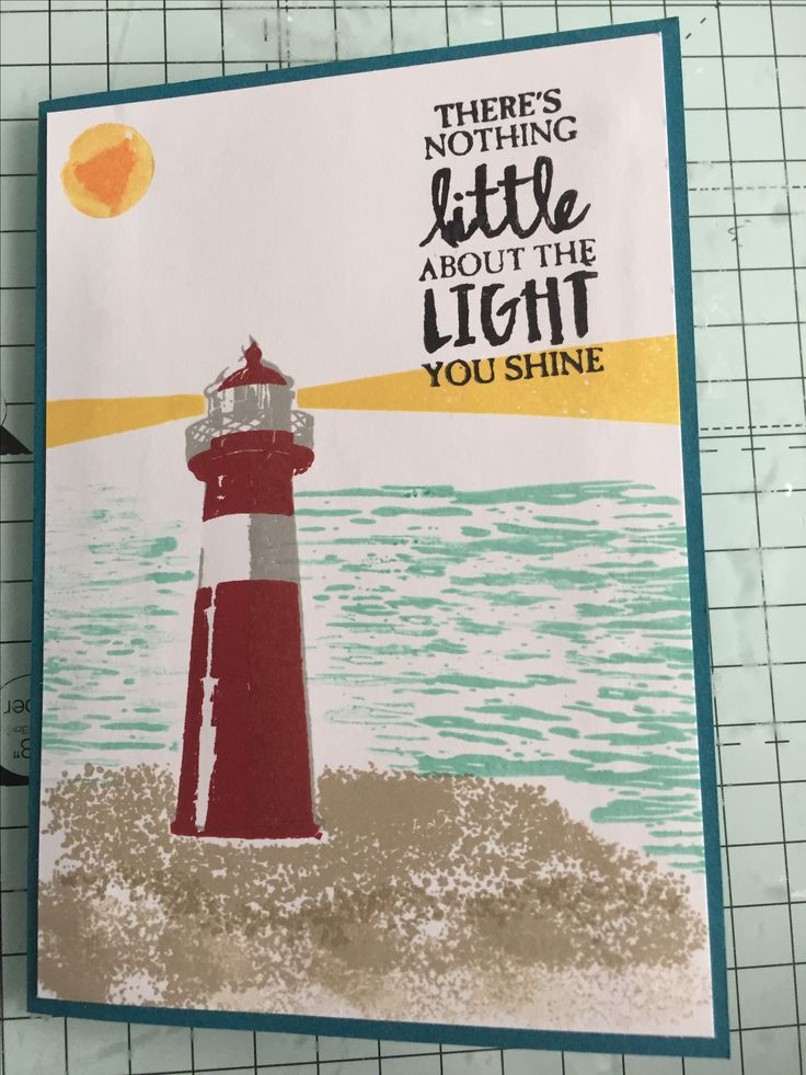 Made this as a valentines card for my husband from the Stampin' Up! High Tides stamp set