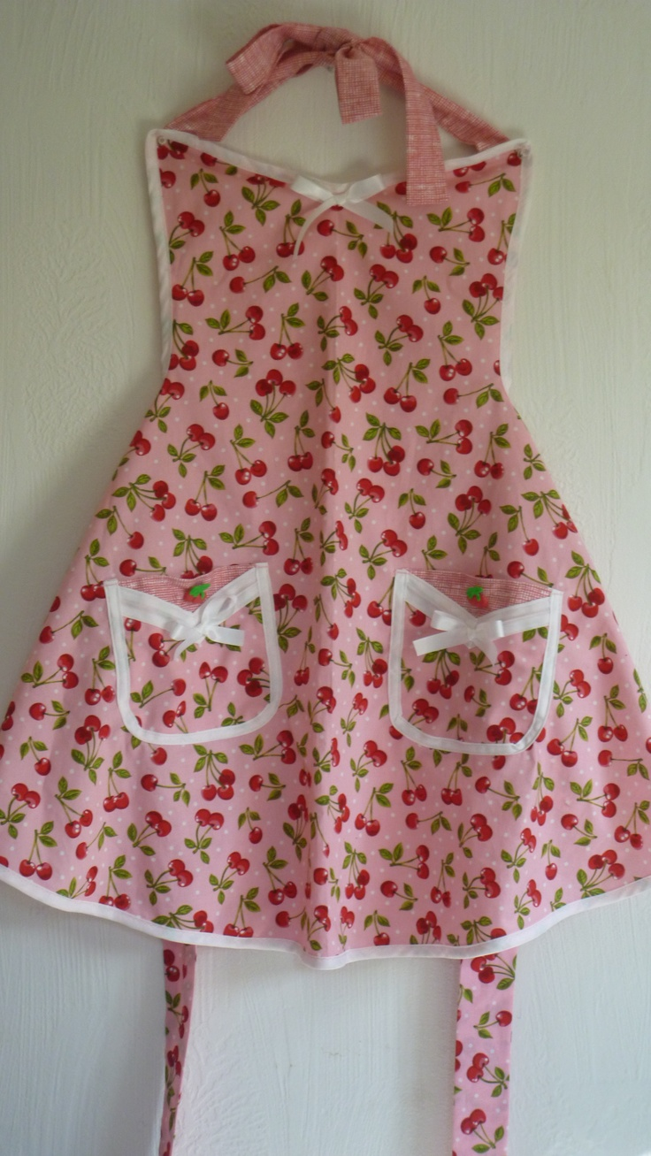 White stuff gateaux apron - Sherry S Cherry Apron Nicely Done I 3 Everything About This Feminine Yet