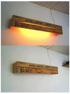 Top 10 Best Inventive Ideas to Recycle Wood Pallets into Lamps Pendant & Chandelier Lighting Table & Desk Lamps