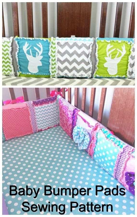 Baby Crib Bumper Pads Sewing Pattern Baby Bedding Patterns Baby