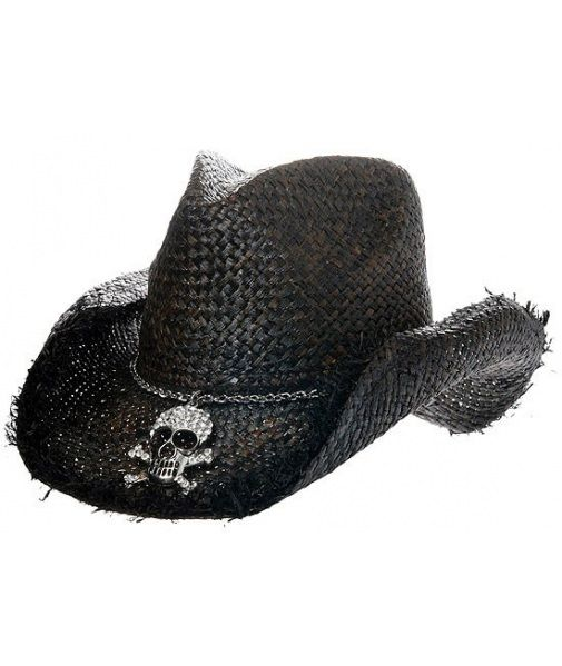 Buy Peter Grimm Osborn Cowboy Hat: Check out our brand new selection of Peter Grimm hats! This wicked black cowboy hat features jagged edges and a...