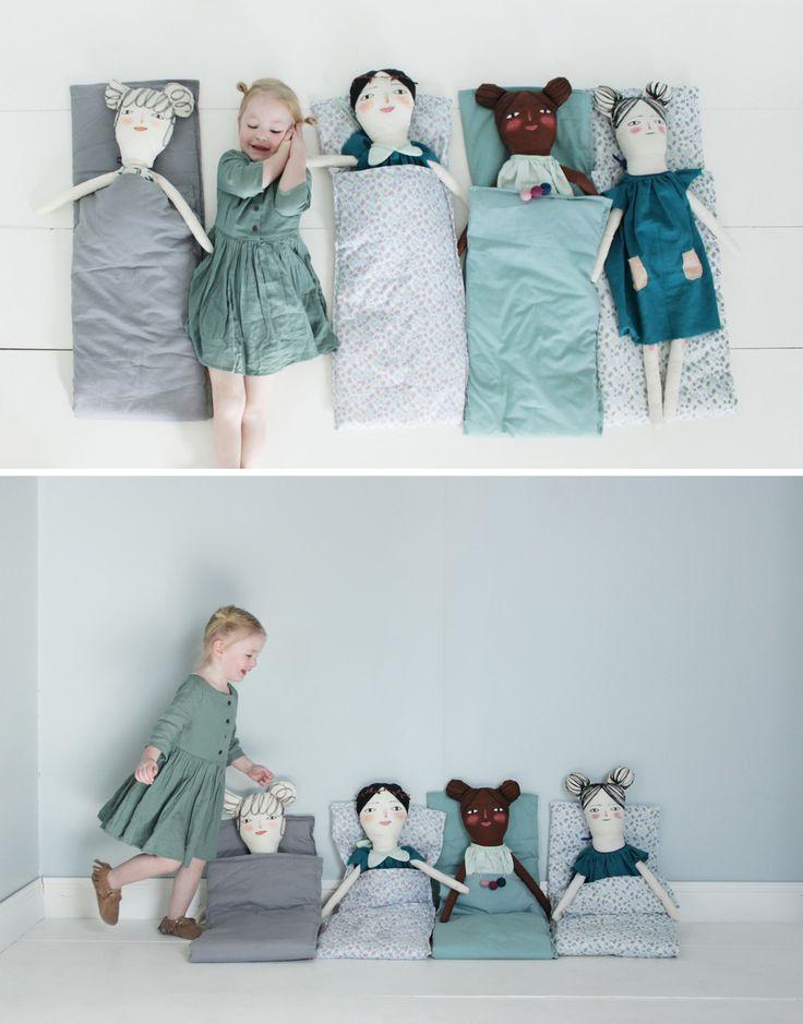 Mer Mag: Sleepy Doll Slumber Party!