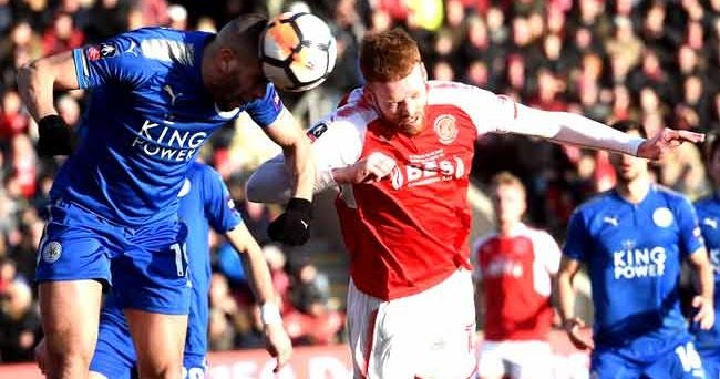 Former Premier League champions Leicester City came within a whisker of suffering an FA Cup shock on Saturday but clung on to draw 0-0 at lower-league Fleetwood Town while Middlesbrough eliminated Sunderland.  The big news before kick-off was that Leicesters star striker Jamie Vardy was denied an emotional return to his former club due to a groin injury while Riyad Mahrez was also missing from the teamsheet.  In the first half of little incident a much-changed Leicester side almost fell…