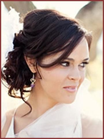 Side Swept Updo Wedding Hairstyles 2012 Hairstyles For Weddings