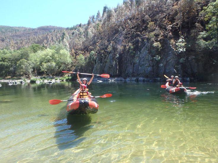 Passeio em Canoa pelo Rio Paiva (Arouca)   grupos a partir de 4 pessoas