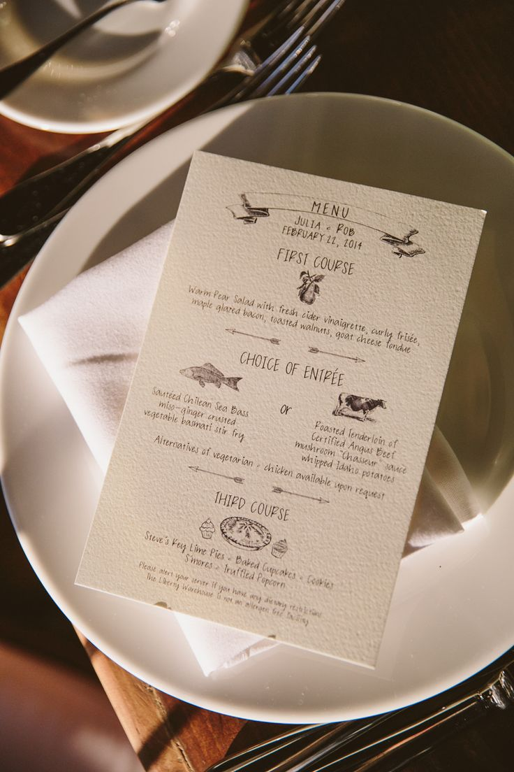 menu Photography Tory Williams weddingstorywilliamscom Read