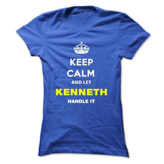 Keep Calm And Let Kenneth Handle It - #money gift #bridal gift. MORE INFO => https://www.sunfrog.com/Names/Keep-Calm-And-Let-Kenneth-Handle-It-aoohd-Ladies.html?68278