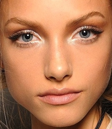 Natural look & pale pink #lips
