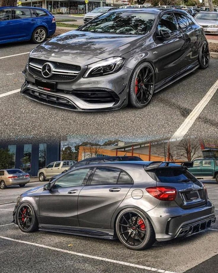 """4,647 Likes, 50 Comments - @amgnation_ on Instagram: """"A45 AMG sitting clean  _______________________________________________________   Owner:…"""""""