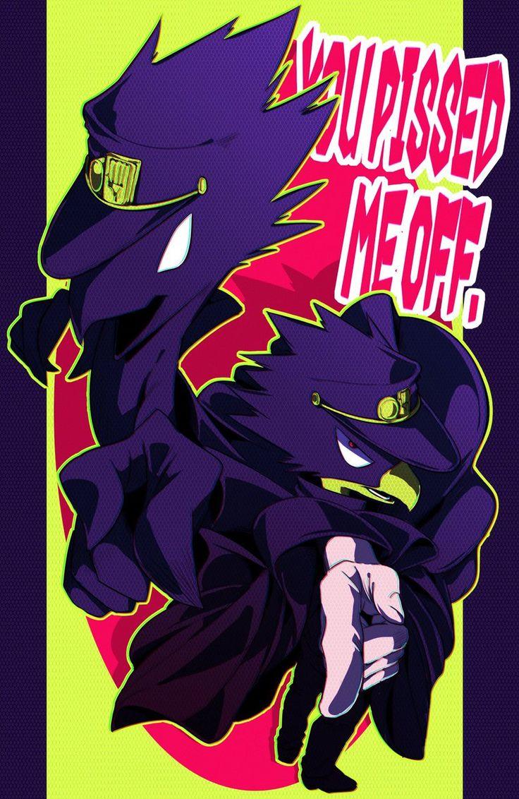 Boku no Hero Academia x JoJo's Bizarre Adventure || Cross-Over [ Fumikage Tokoyami ]