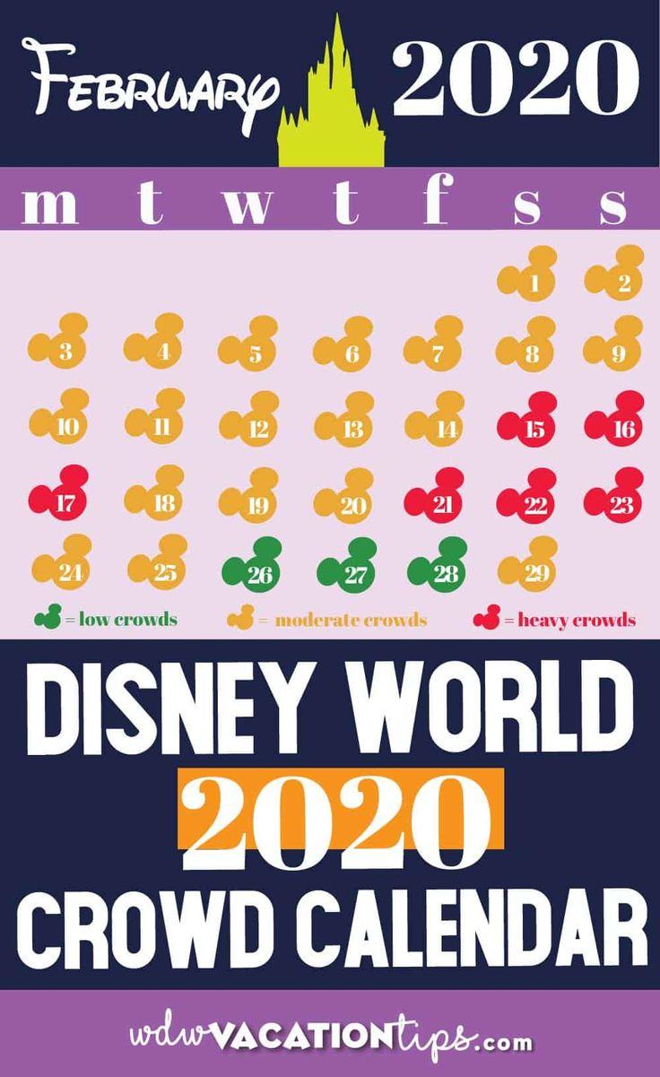 Disney World Crowd Calendar for February 2020 • WDW
