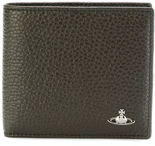 Vivienne Westwood Men's Green Leather Wallet.