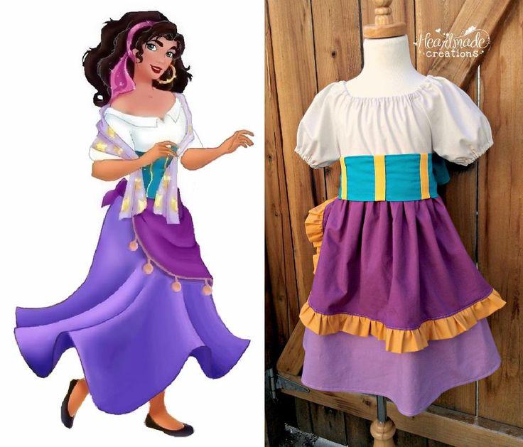 Esmeralda costume | Halloween and costumes | Pinterest ... |Diy Esmeralda Costume