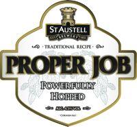 St Austell Brewery - Proper Job - 4.5%  25th September 2012