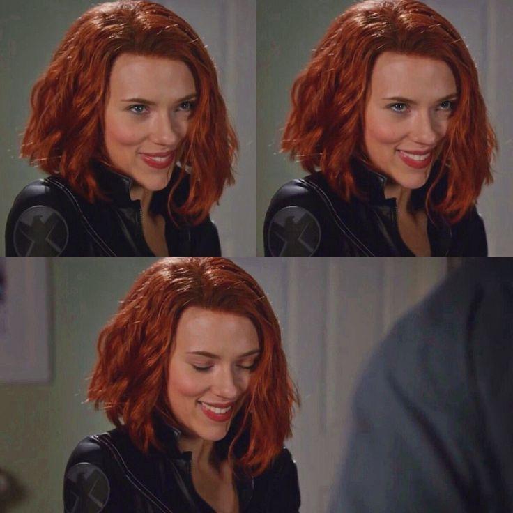 Scarlett Johansson For Black Widow Trailer Snl Scarlett Johansson Red Hair Scarlett Johansson Hairstyle Black Widow Scarlett