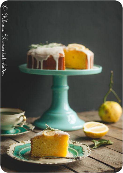 Zitronenkuchen mit Rapsöl [Reklame]