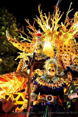 Carnaval de Rio de Janeiro, Brazil.