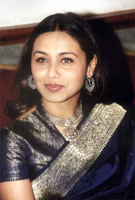 Rani in a traditional silk saree    bollywood saree
