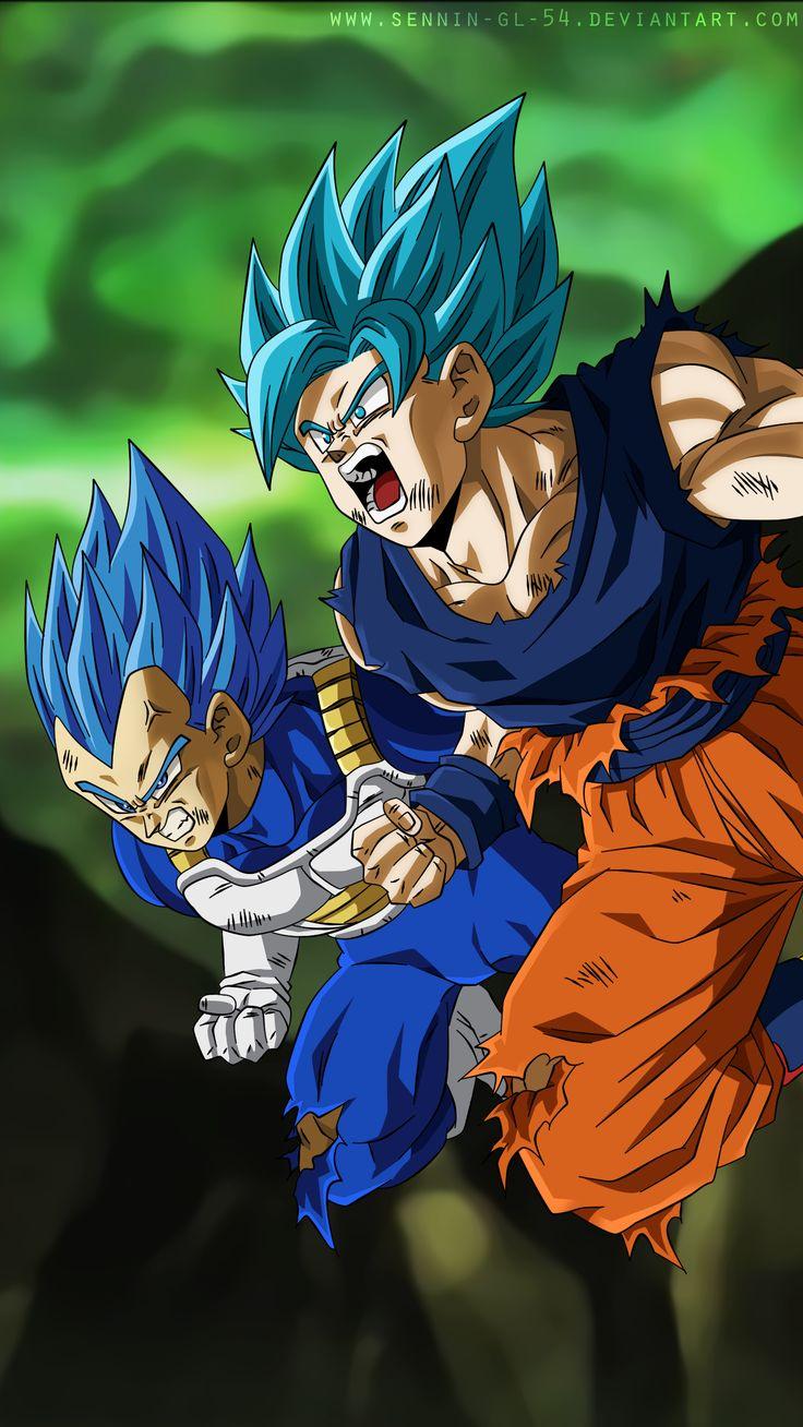 Vegeta SSGSS limit breaker and SSGSS Goku