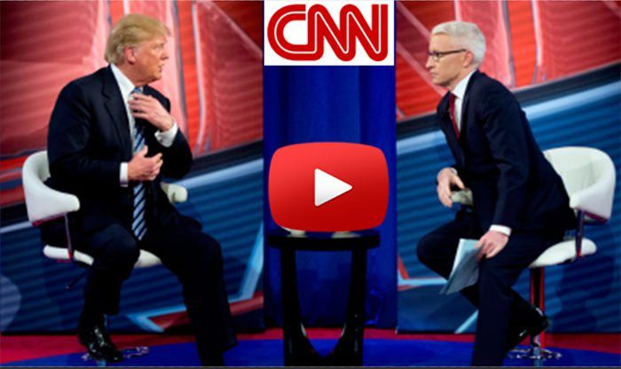 NEWSWHOA! Donald Trump Crushed Anderson Cooper On CNN So Hard, This Is His Best Interview So Far!