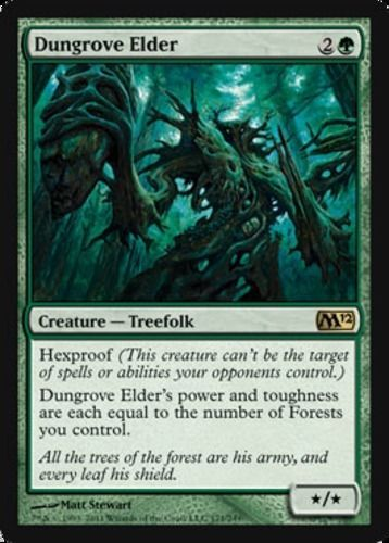 Dungrove-Elder-x4-Magic-the-Gathering-4x-Magic-2012-mtg-rare-card-lot-green