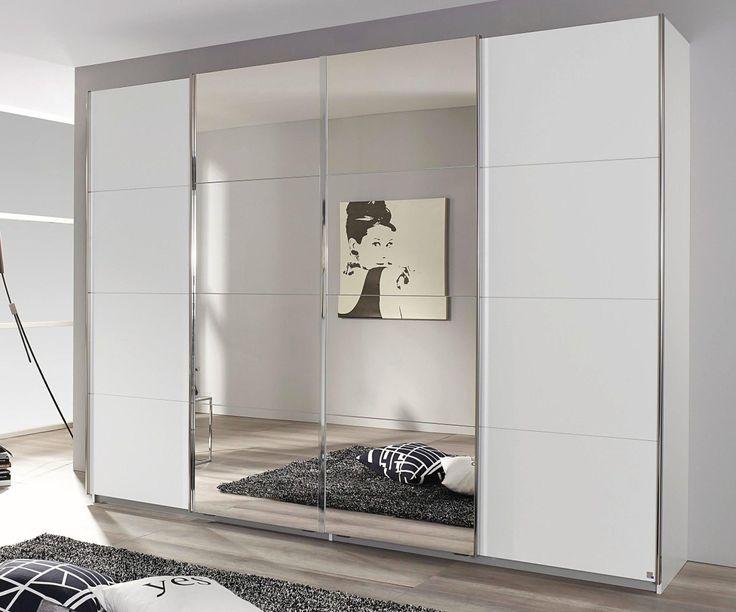 Rauch Schrank mit Schwebetüren weiß, Breite 316 cm, Höhe 211 cm Jetzt bestellen unter: https://moebel.ladendirekt.de/wohnzimmer/schraenke/weitere-schraenke/?uid=46bdd9c6-3c39-58e1-8af1-f033625639e8&utm_source=pinterest&utm_medium=pin&utm_campaign=boards #schraenke #wohnzimmer #weitereschraenke