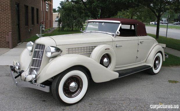 1935 Auburn 851 Cabriolet  http://carpictures.us