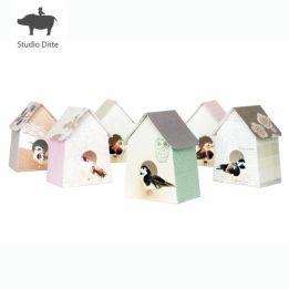 Studio Ditte Vogelhuisjes Papier