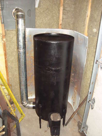 Rocket Stove Mass Heater #PrepperProducts #PrepperTalk