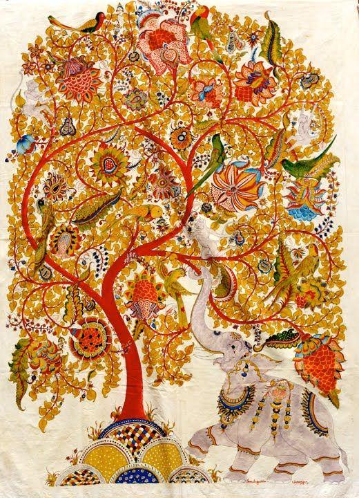 Pure Ghee Designs : Kalamkari paintings for Samode Safari Lodge