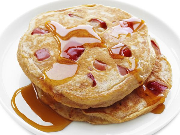 Whole Wheat Apple Pancakes: Ingredients: -1 cup low-fat buttermilk -3 ...