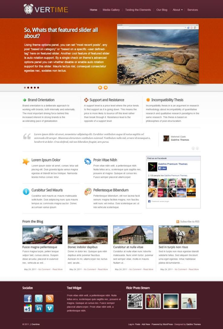OVERTIME #WP #THEME  #WPTheme #WebDesign #Multimedia #Gallery #MobilApp | #WPThemeHouse
