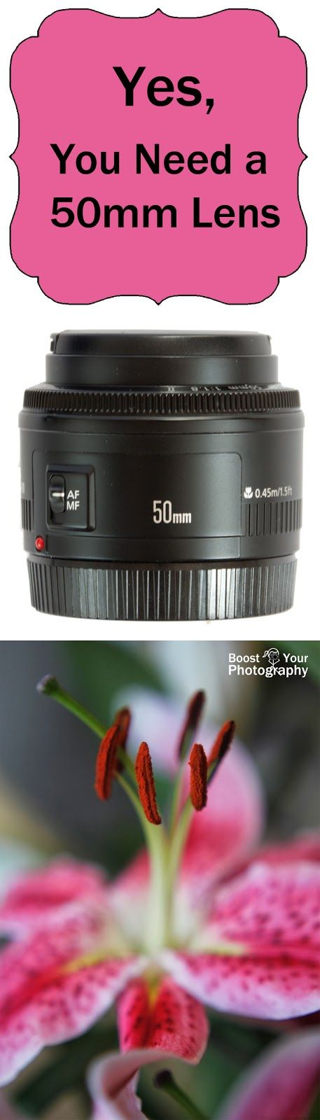 """Yes, You Need a 50mm Lens 