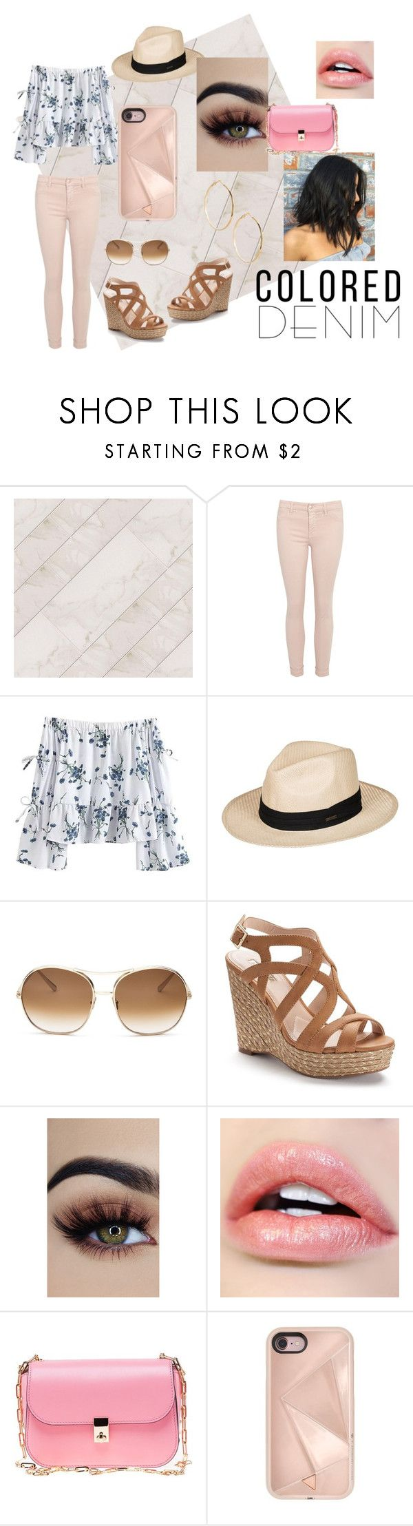 """""""Spring Style"""" by blueyooo ❤ liked on Polyvore featuring Roxy, Chloé, Jennifer Lopez, Valentino, Rebecca Minkoff and GUESS by Marciano"""