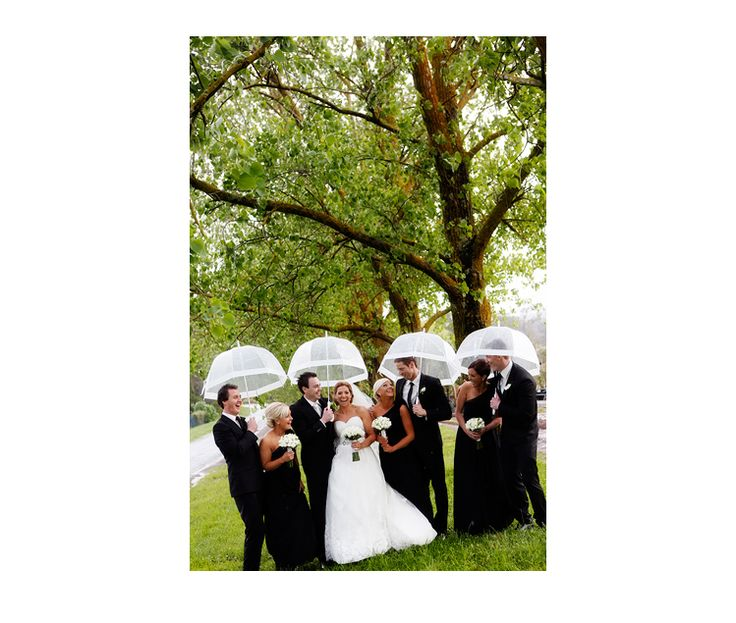 Rain!!!  Melbourne Wedding by Red Butterfly Photography